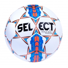 М'яч футбольний SELECT Solo Soft Indoor - white