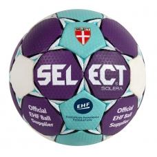М'яч гандбольний SELECT Solera - sky blue/white/purple