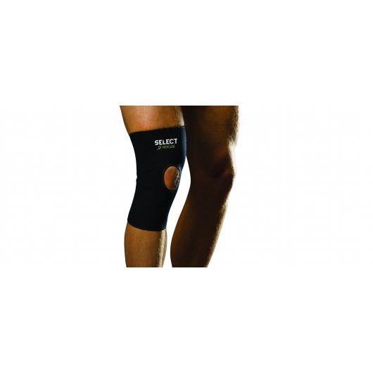 Elastic Knee support with hole