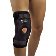 Knee support with side splints 6204