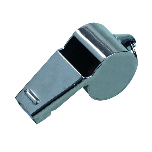 Referee whistle metal