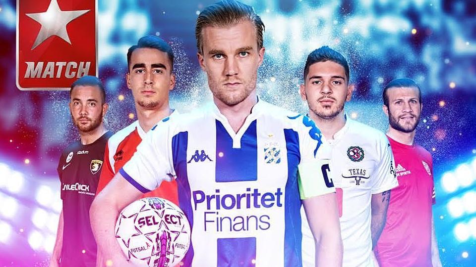 Select став офіційним м'ячем шведської Футзальної ліги