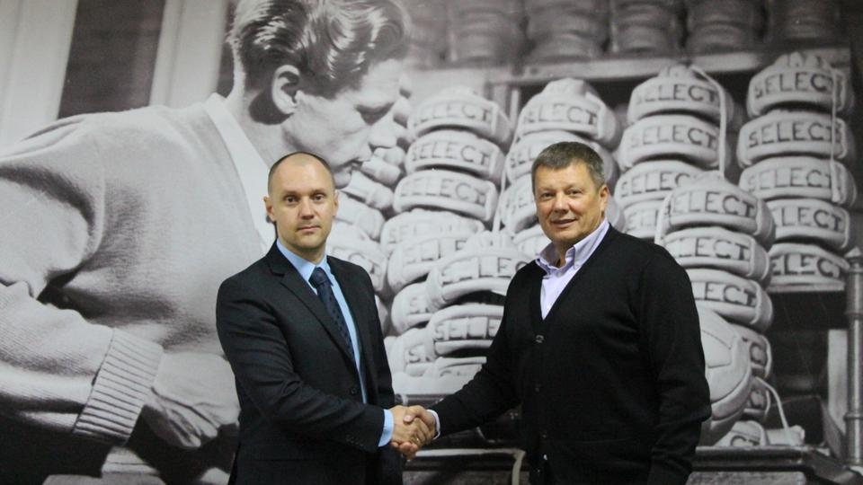 Компанія Select Sport продовжила технічне партнерство з ФАСК