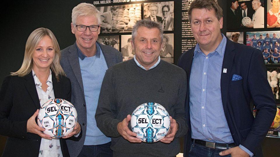 З нового сезону Select Brillant Super TB стане офіційним м'ячем чоловічого і жіночого чемпіонатів Норвегії