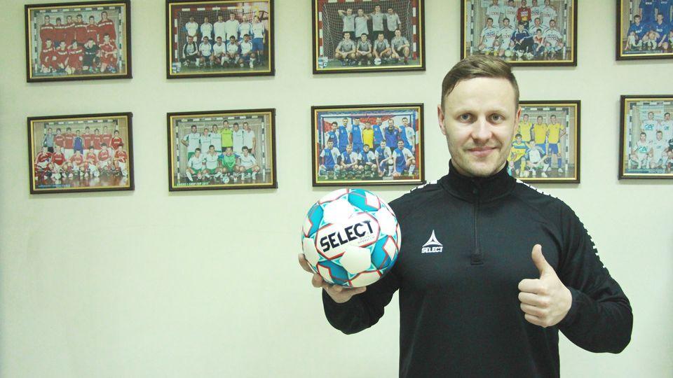 Представляємо принципово новий футзальний м'яч - SELECT Futsal Speed DB (IMS)