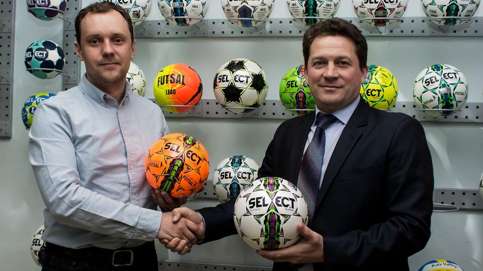 Укладено договір про співпрацю між Банківською футбольною лігою та компанією Select Sport