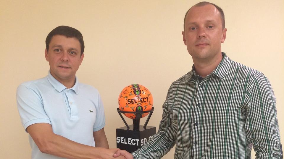 Компанія Select Sport уклала договір про співпрацю з Асоціацією футзалу України