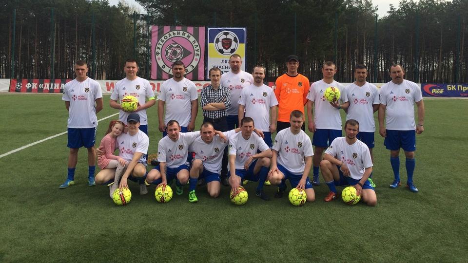 Компанія SELECT Sport Україна вітає «Лігу учасників АТО» зі стартом змагань
