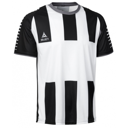 Футболка SELECT Chile shirt w. short sleeves - with stripes