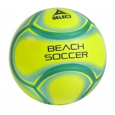 М'яч для пляжного футболу SELECT Beach Soccer - yellow/green