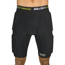 Термошорты SELECT Compression shorts with pads 6421