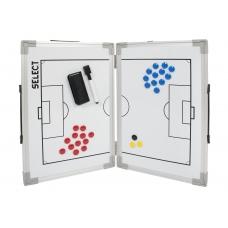 Розкладна тактична дошка SELECT Tactics board foldable - football
