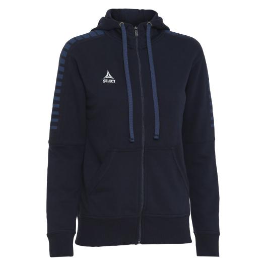 Толстовка SELECT Torino zip hoodie women